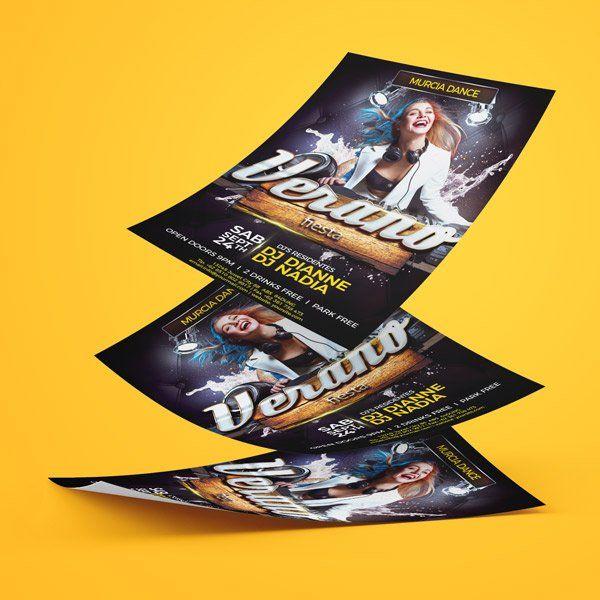 flyer para conciertos