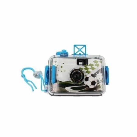 camara de fotos acuatica futbol