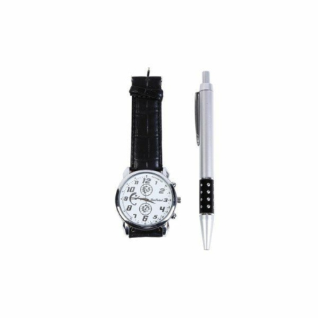 Set bolígrafo y reloj para hombre. Detalle para comunión