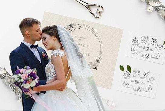 Especial bodas, invitaciones, recordatorios y más