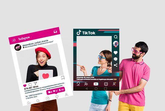 marcos redes sociales