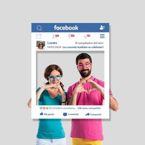 marco de fotos facebook