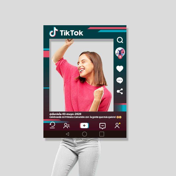 Marco de fotos TikTok