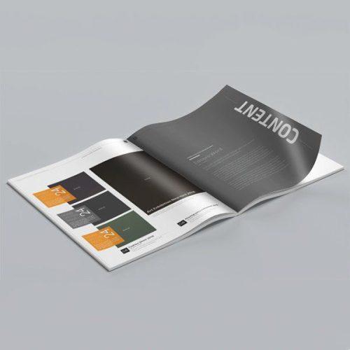 Revistas y catálogos DIN A4 en papel de 135gr