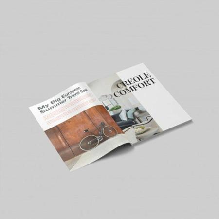 Revistas y catálogos A4 con portada 300gr laminada