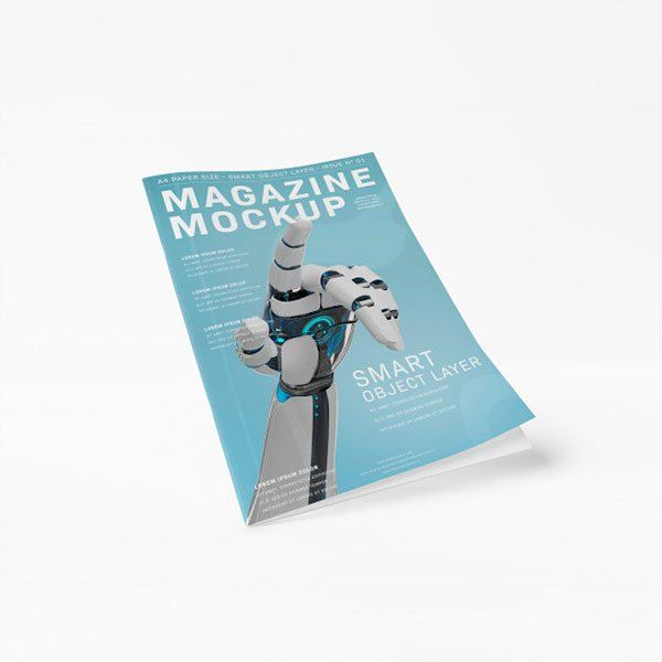 Revistas y catálogos DIN A5 papel de 135gr