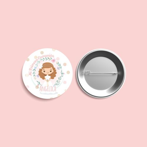 chapas personalizadas primera comunión niñaschapas personalizadas primera comunión niñas