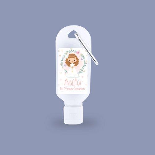 gel personalizado Comunión Niñas