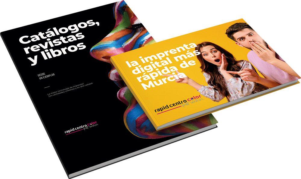 impresión de libros y catálogos en Murcia